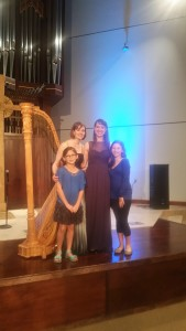 With young musicians from the audience!