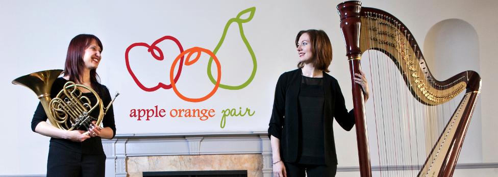 apple orange pair