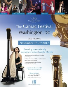 camac harp festival flyer